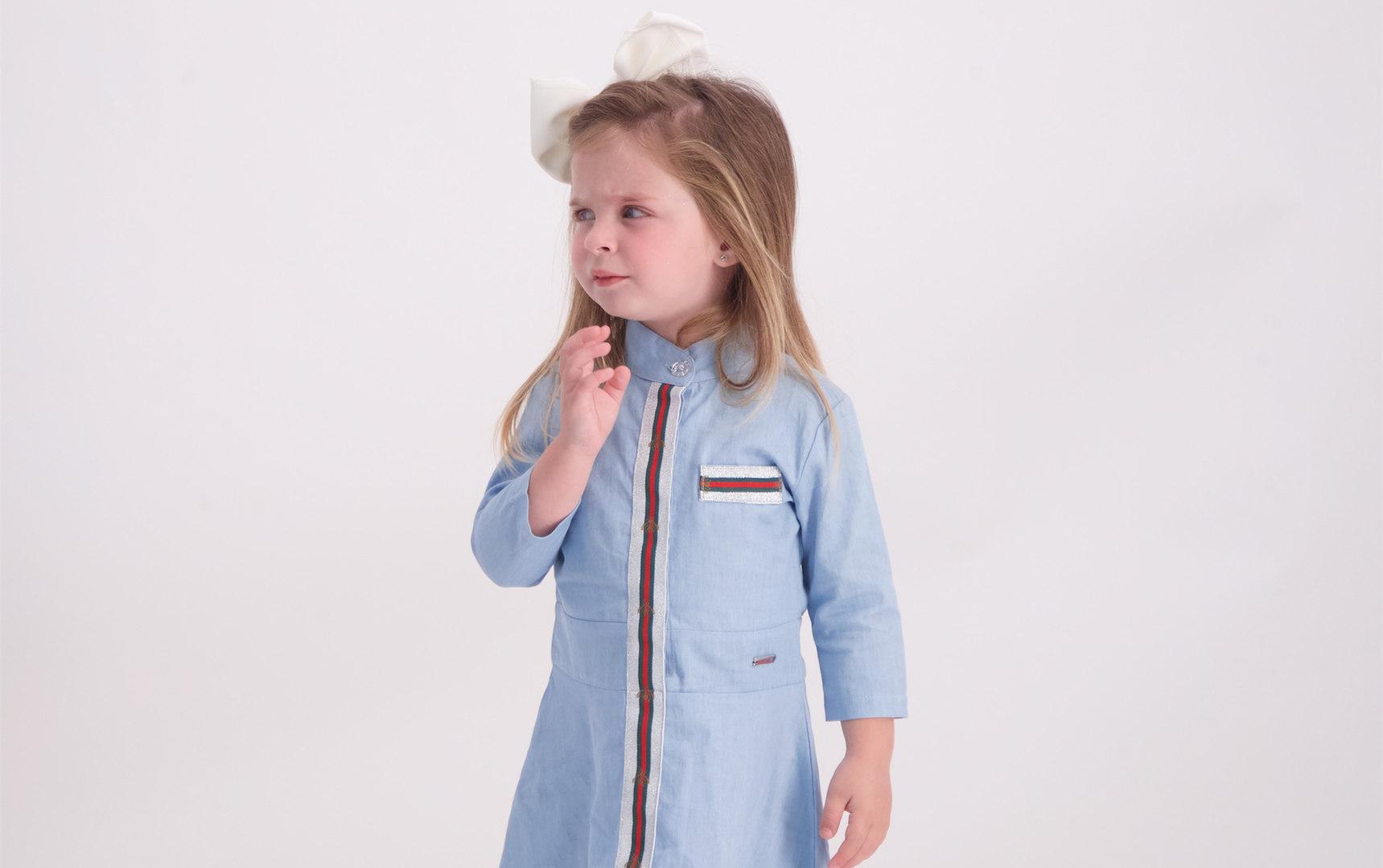שמלה גינס malaya | מאליה אופנת ילדים