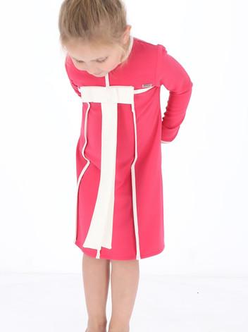 שמלה אדל malaya   מאליה אופנת ילדים
