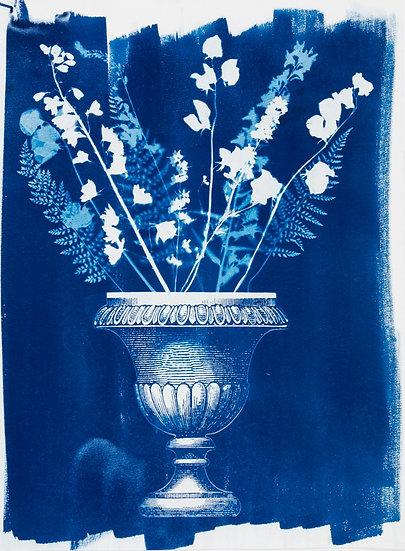 Fougères et vase à l'antique 2