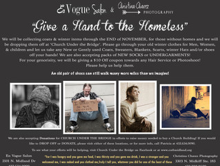 Give a Hand to the Homeless