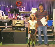 Jeevan and Janice his daugther 2 of our students