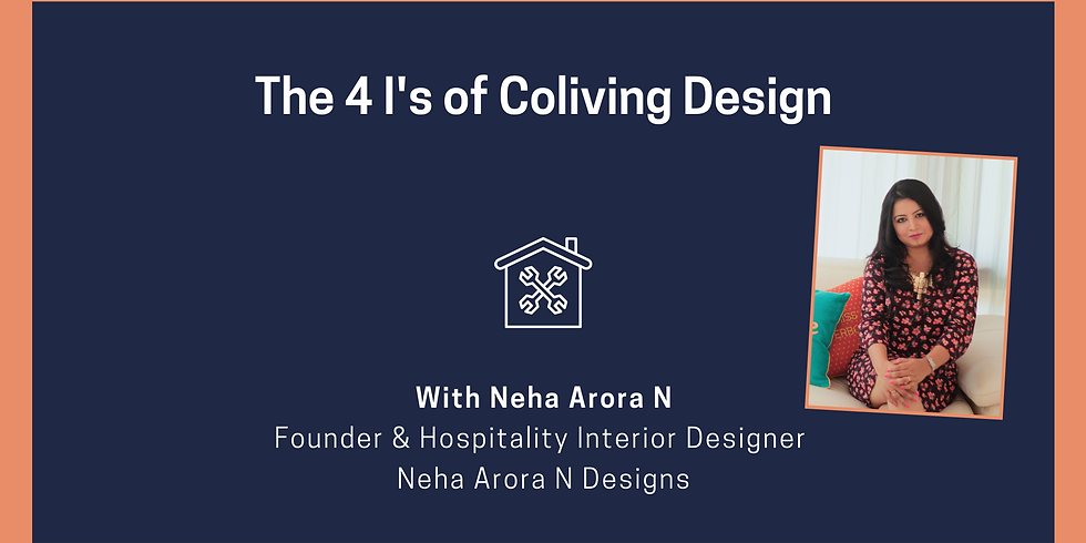 The 4 I's of Coliving Design