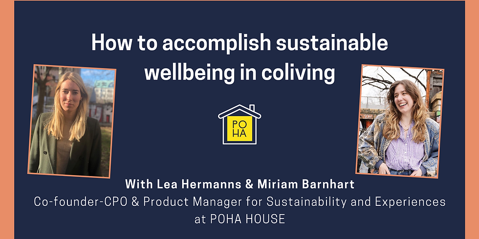 How to accomplish sustainable wellbeing in coliving