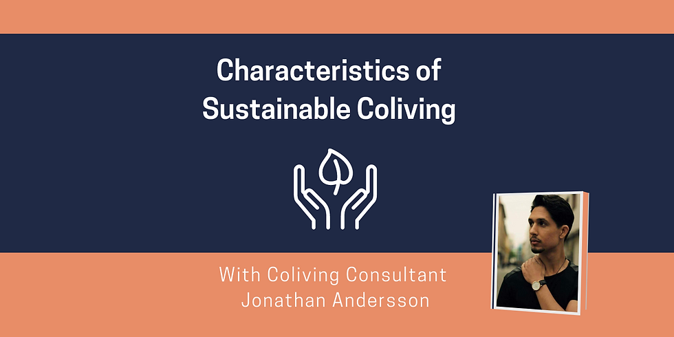 Characteristics of Sustainable Coliving