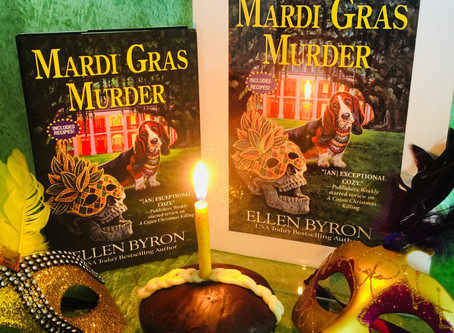 A Book Birthday for MARDI GRAS MURDER!
