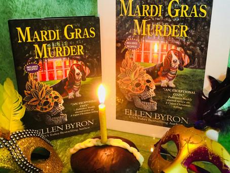 A Book Birthday for MARDI GRAS MURDER!