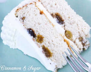 Recipe for Rum Raisin Cake from FATAL CAJUN FESTIVAL
