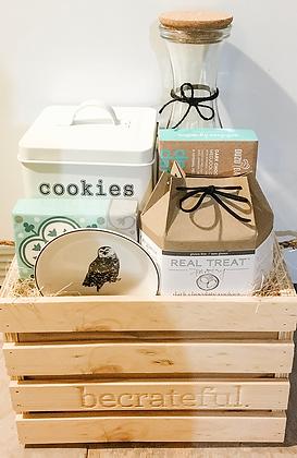 be home. - big (cookie tin)