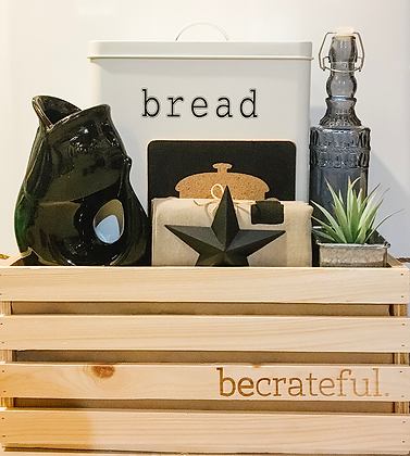 be home. - biggest (bread tin)