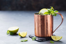 Moscow Mule with Limes