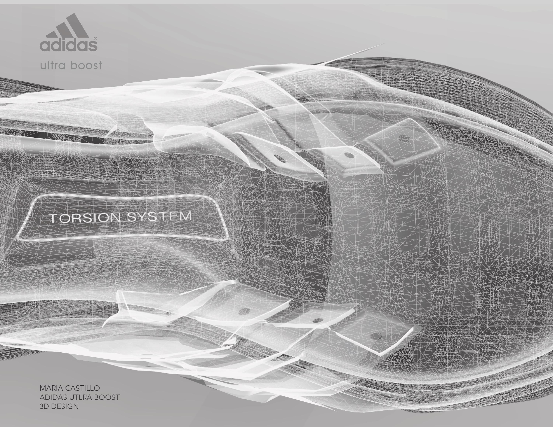 _ADIDAS: Ultraboost 3D modelling
