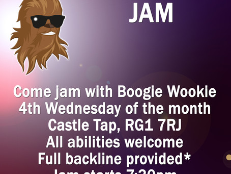 New Monthly Jam Night!