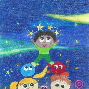 Mit den Bibops auf dem Mond