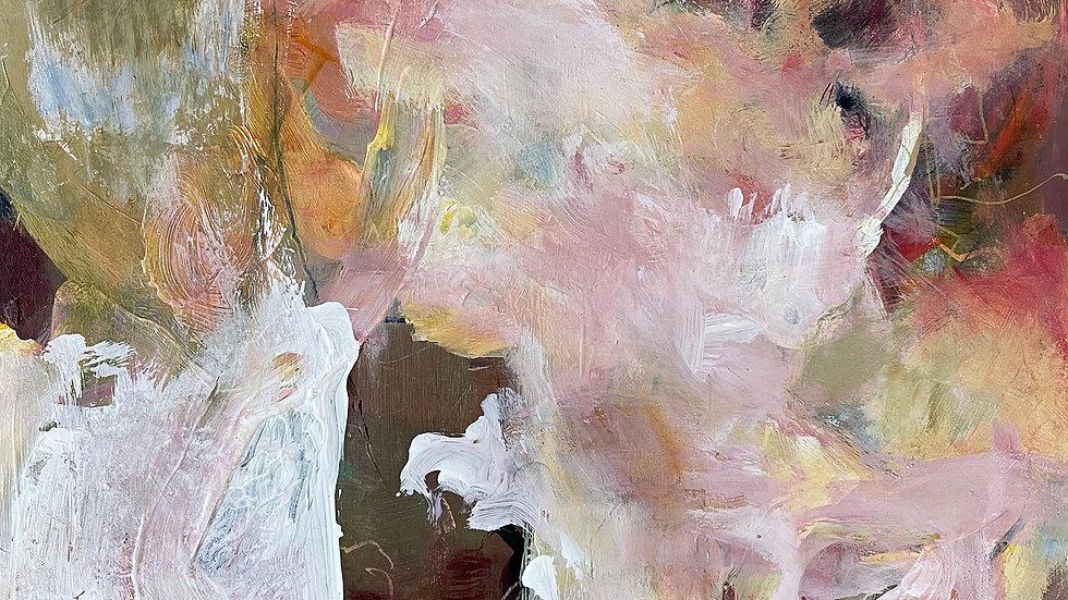 Marli Thibodeau, This Too, acrylic, 12x12