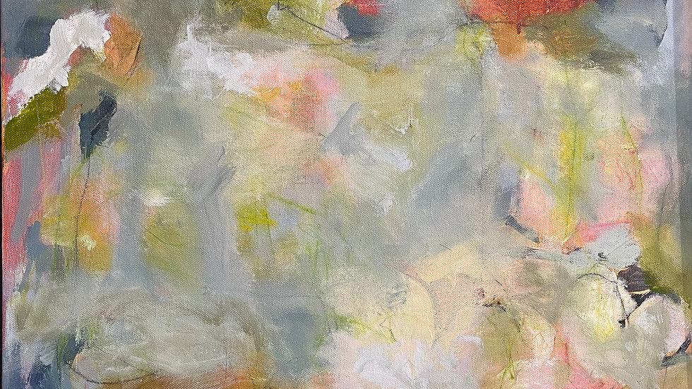 Marli Thibodeau, Becoming, acrylic, 20x20