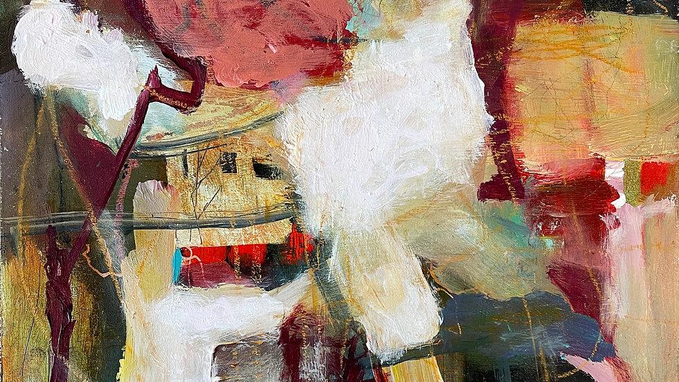Marli Thibodeau, Joyride, acrylic, 12x12