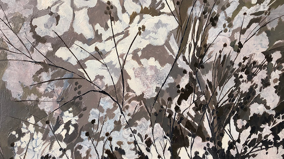Betty Schopmeyer, Berries, oil, 12x12