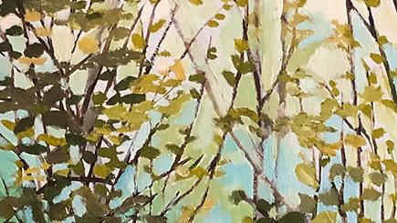 Betty Schopmeyer, Across the Bay Spring, oil, 14x4