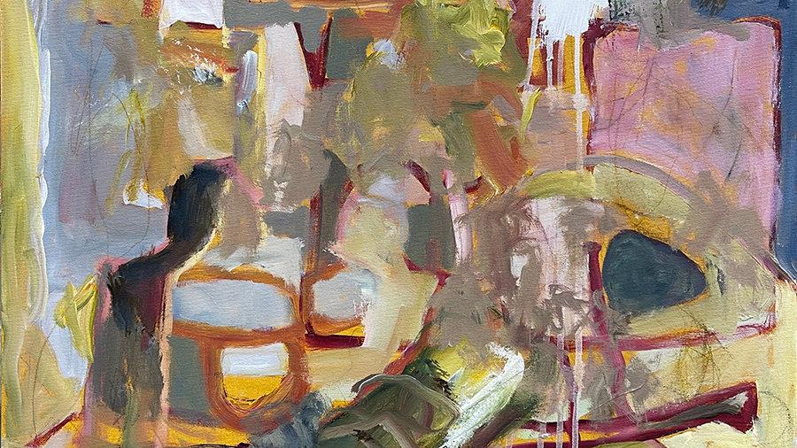 Marli Thibodeau, Adventureland, acrylic, 24x24