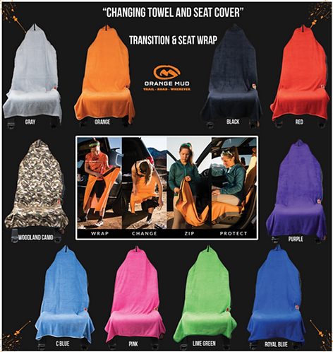 Orange Mud - Transition & Seat Wrap
