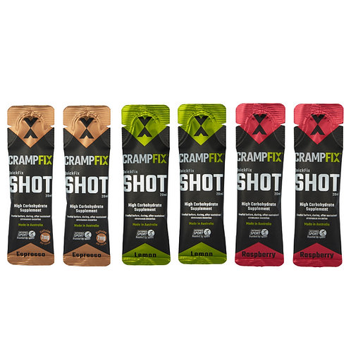 6 X CRAMPFIX Shots