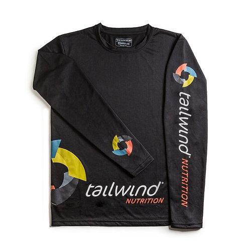 Tailwind 2nd Skin Tees - Womens Long Sleeve (BLACK)