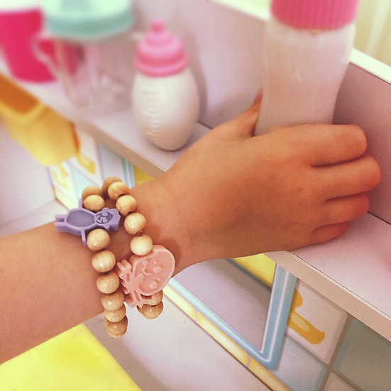 Child's Doodle Beaded Bracelet