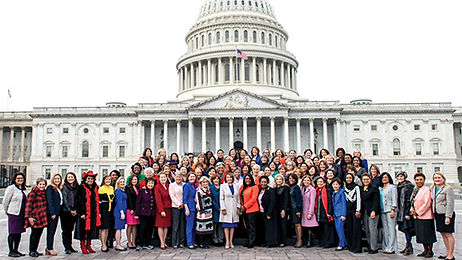 Women Reps of US House, 2019