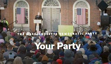 Elizabeth Warren addresses gathering in Boston