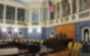 MA Senate Chamber - Beautiful Old Architecture
