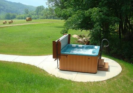 Magic Mountain Hot tub