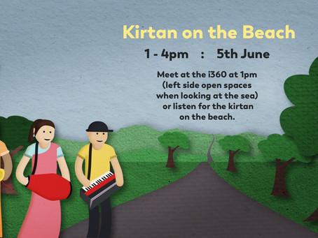 Kirtan on the Beach - Saturday 5th June