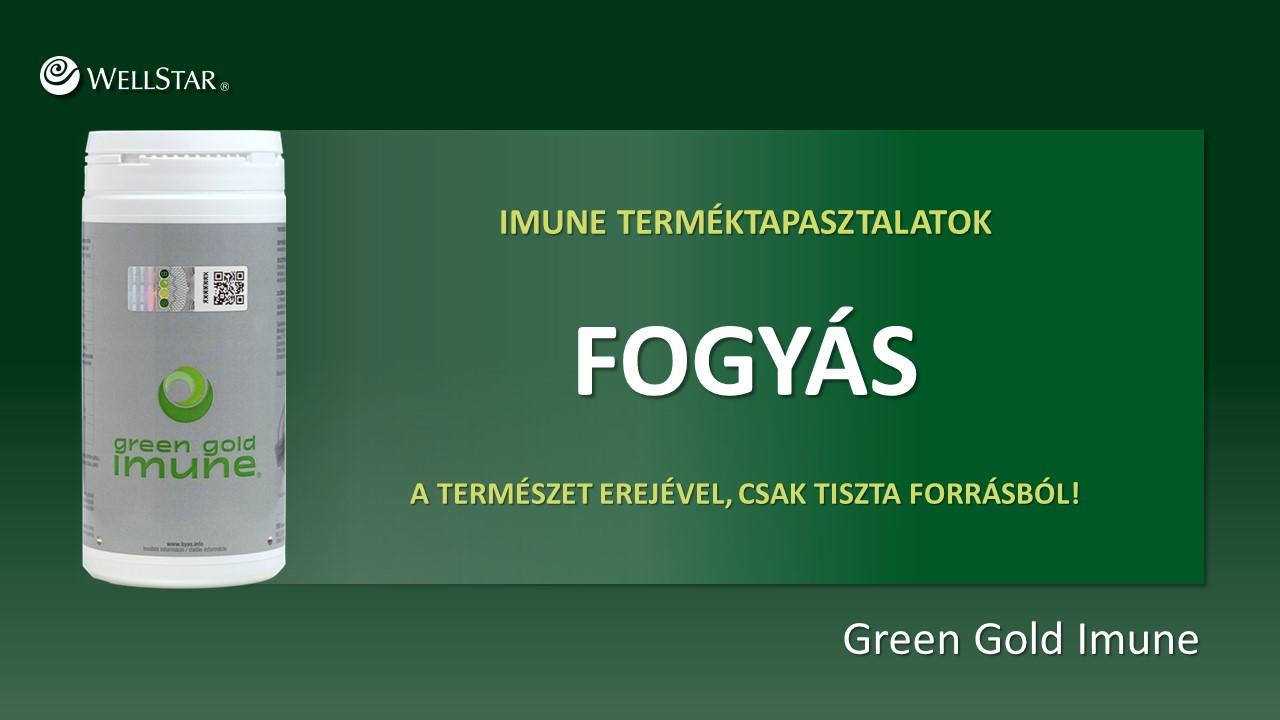 imune alga fogyás