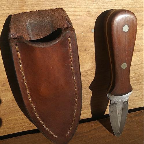 Damascus Oyster Knife