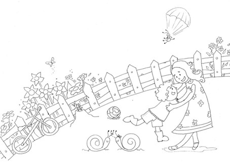 Meu Processo de Trabalho na Ilustração Infantil