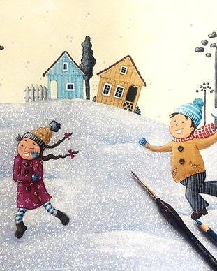 Inverno - Como fazer um livro infantil.j