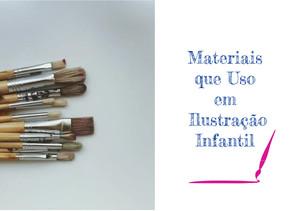 Materiais que Utilizo - Pincéis