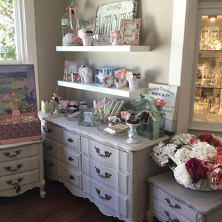 FRENCH DRESSER & TABLES