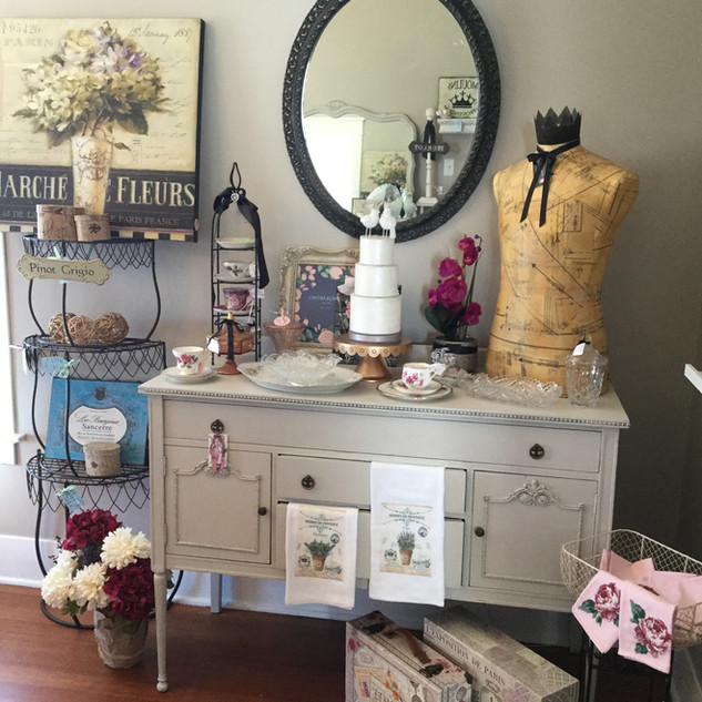 FRENCH BUFFET TABLE