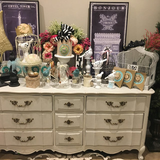 FRENCH PROVENCIAL DRESSER