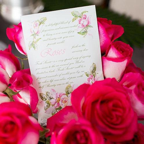 SACHET - Roses