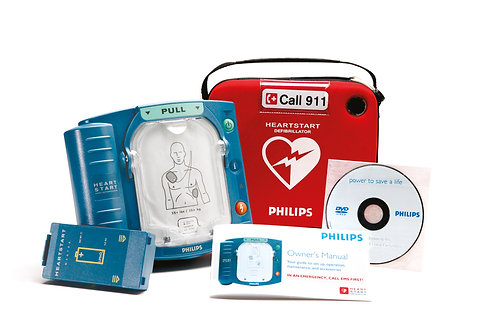 Phillips HeartStart OnSite AED with Ready-Pack