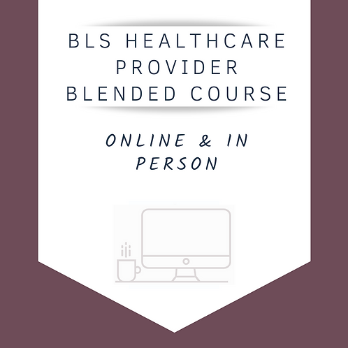 BLS Healthcare Provider CPR