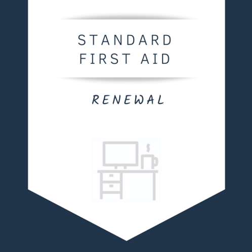 Standard First Aid & CPR Level C (Renewal)