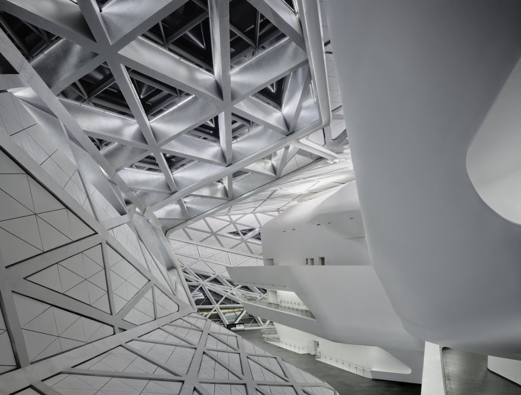 Guangzhou Opera House design by ZAHA HADID
