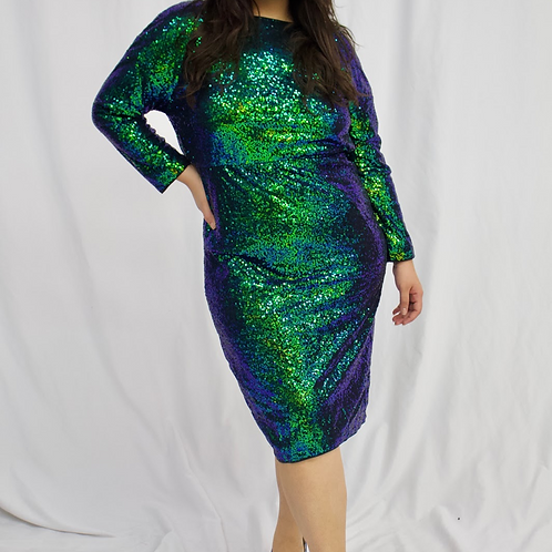 Brianna Sequin Dress