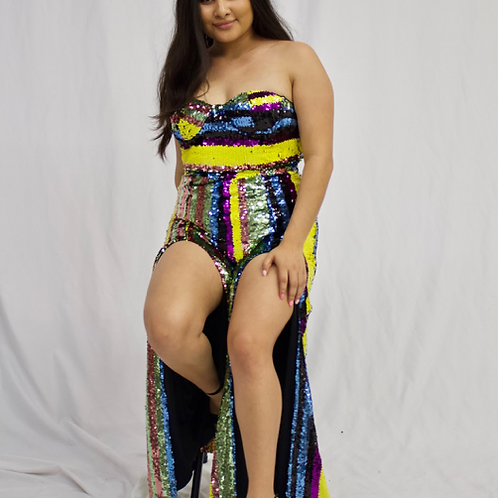 Jeanelly Sequin Jumpsuit