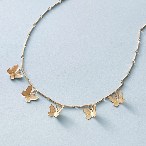 Mary Butterfly Necklace