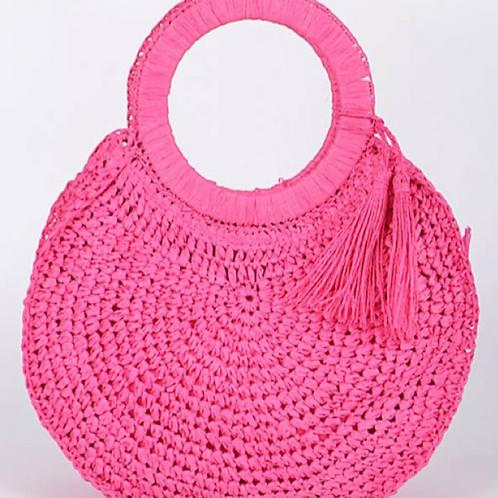 Rosa Straw Bag