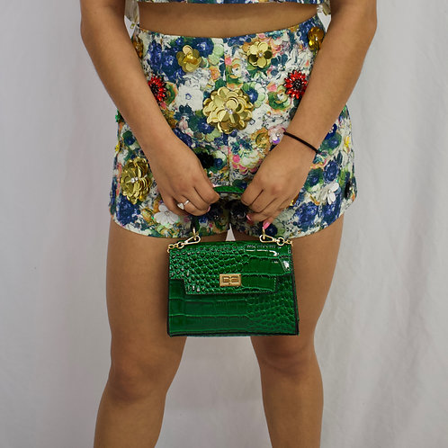 Monique Emerald Bag